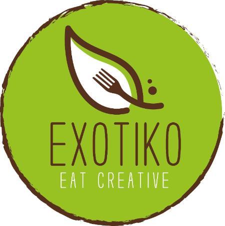 EXOTIKO Eat Creative Logo
