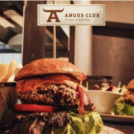 Angus Club Steaks & Burgers Logo